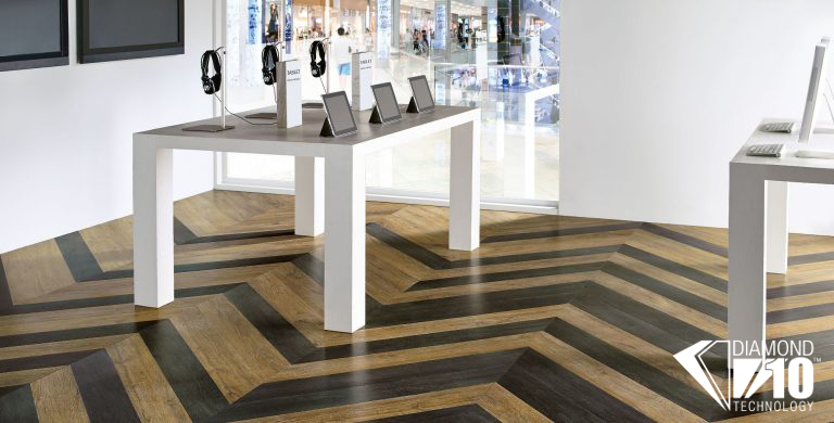 this popular wood collection features innovative looks created to maximize color and design coordination blends