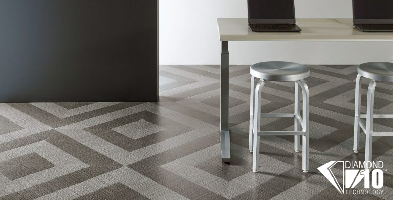 Inspired by carpet tile, woven textures, textile looks and more, this collection offers an entire palette of texture, dimension and color - to complement and contrast with wood and stone visuals, or to stand on its own.