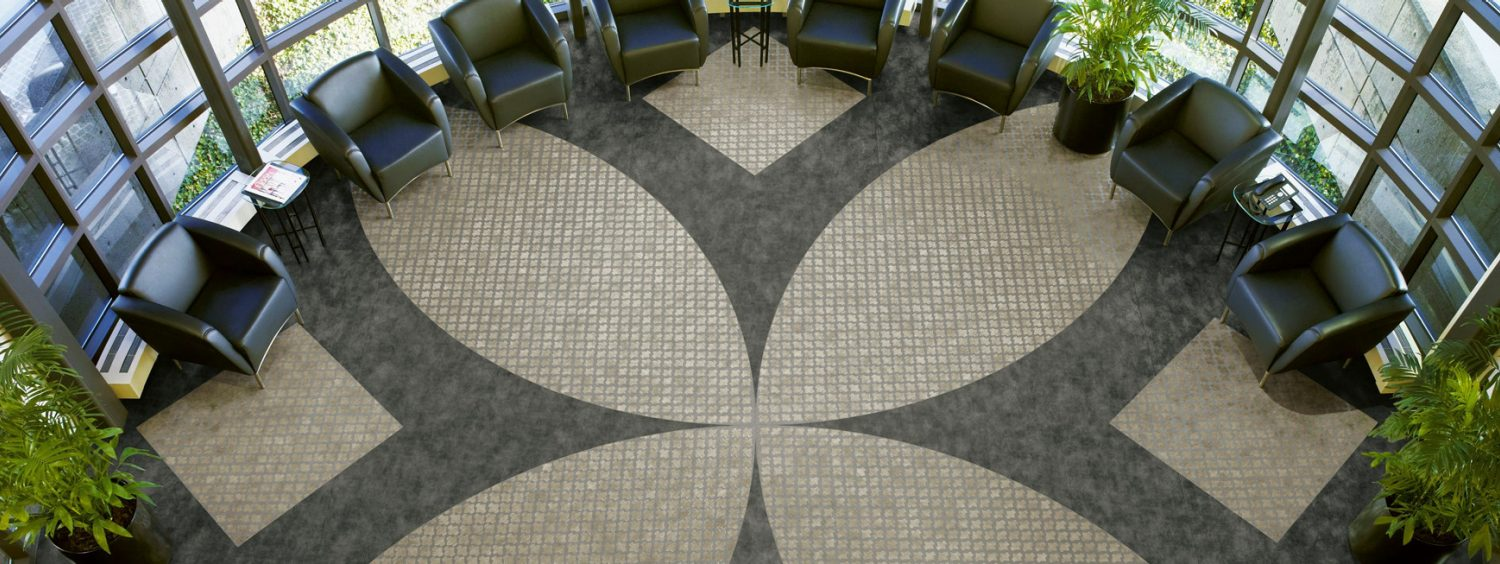Luxe Lobby Offer Guests A Striking First Impression With Distinctive Designs Fashioned Luxury Vinyl Tile Modern Visuals That Mimic Travertine And