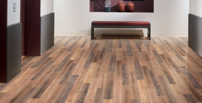 With the feel of reclaimed wood, this durable collection combines a high number of unique visuals, multiple species, and multiple plank widths and lengths to enhance design flexibility.