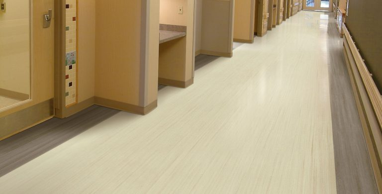 One of the most sustainable options in resilient flooring, this linoleum sheet features a beautiful collection of contemporary colors in a linear pattern and delivers superior scratch and stain performance.