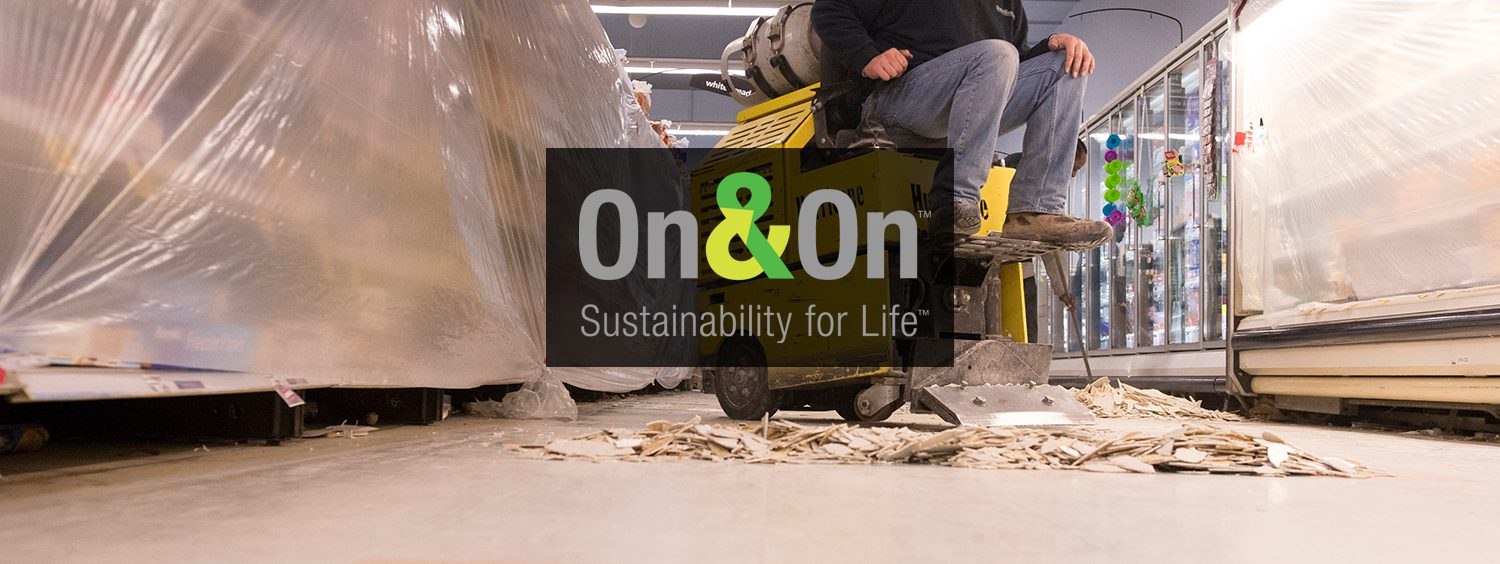 Onon recycling program armstrong flooring commercial at armstrong flooring our onon recycling program helps you save money while also keeping flooring materials out of landfills dailygadgetfo Image collections