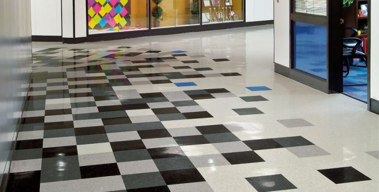 Vinyl Composition Tile Floor Patterns Thefloors Co