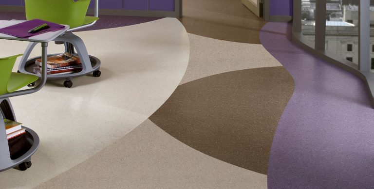 Vinyl Composition Tile Premium Excelon Chromaspin
