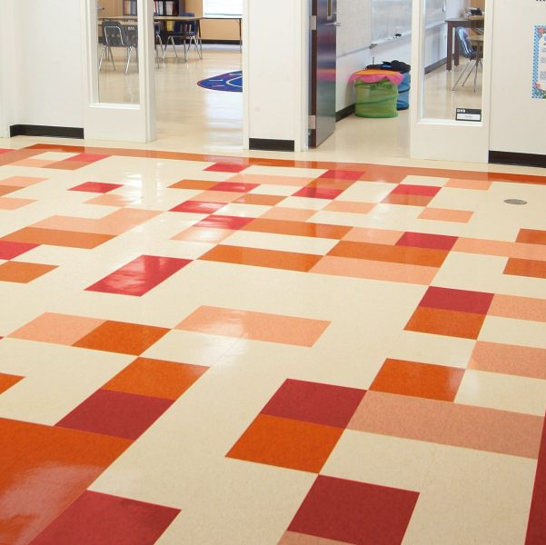 Vct Commercial Flooring : Standard excelon multicolor armstrong flooring commercial