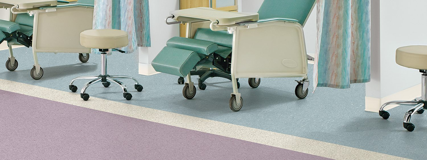 Attractive Commercial Vinyl Sheet Flooring