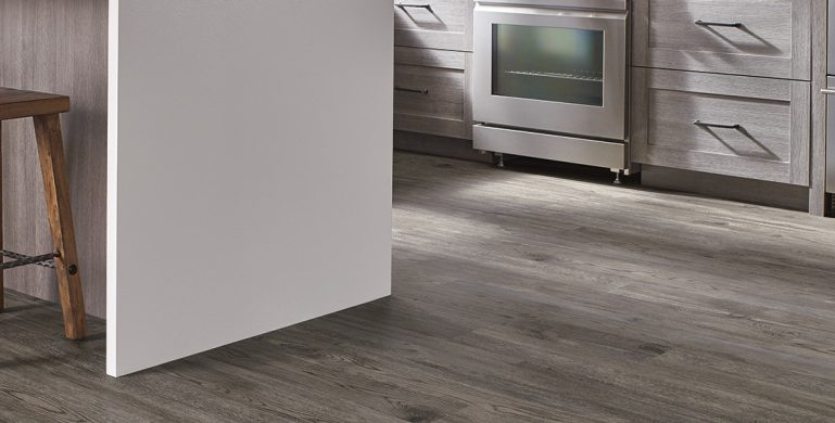Best for light commercial applications, American Personality is Made in the USA with domestic and global content. It offers beautiful hickory, oak, and walnut planks in modern finishes to create a warm, cozy ambiance.