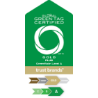 Global GreenTag Certified | Level A Gold