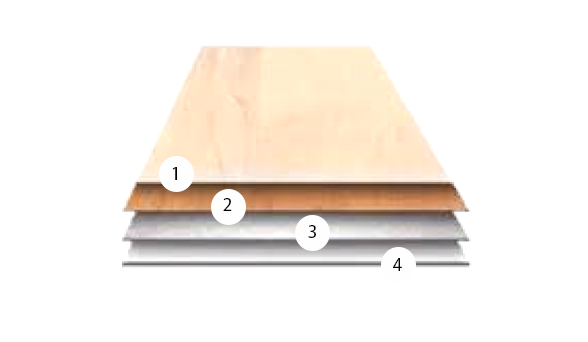 Timberline Plus Product Structure