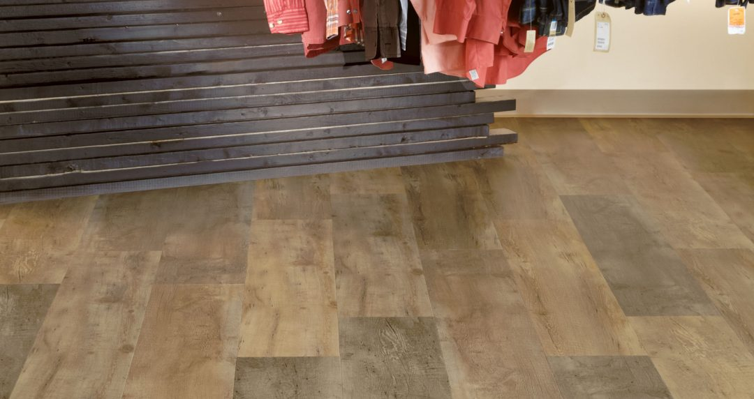 Flooring design trend showing reclaimed wood