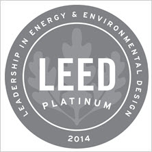 2014 LEED-EB Platinum Certification - United States Green Building Council for the Armstrong Flooring headquarters