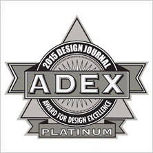 2015 ADEX Platinum Award for Design Excellence for I-Set Installation System