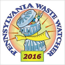 2016 Professional Recyclers of Pennsylvania (PROP) Outstanding Achievement Award badge