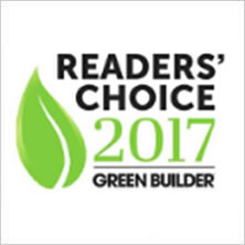 Readers' Choice Award 2017 - Green Builder - badge
