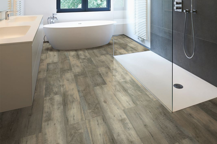 Where Hardwood Is Not Recommended For Installation In Bathrooms And Laundry Rooms Luxury Vinyl Flooring Waterproof So It Makes A Great