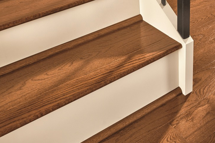 Zamma Stair Nose Cap With Carpet Zamma Asheville Hickory 3