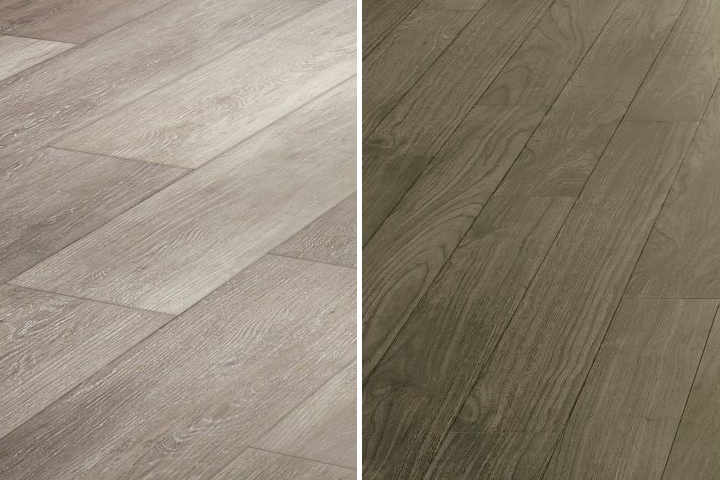 Various Wood Looks Available With Luxury Vinyl Tile