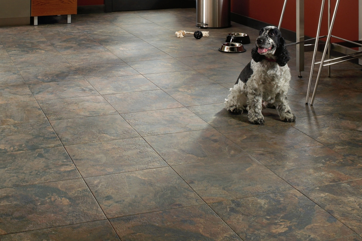 ceramic look in the kitchen - Mesa Stone - Canyon Shadow D4110