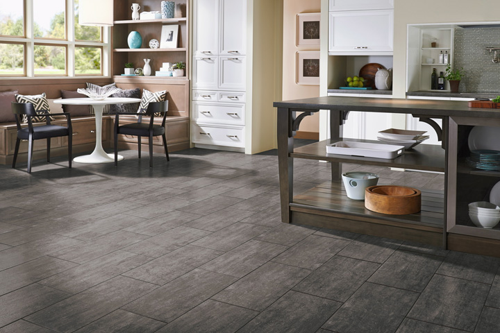 Slate Family Room Floor