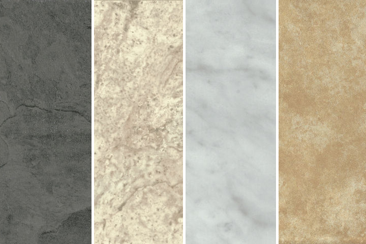variety of styles available for vinyl flooring that looks like stone