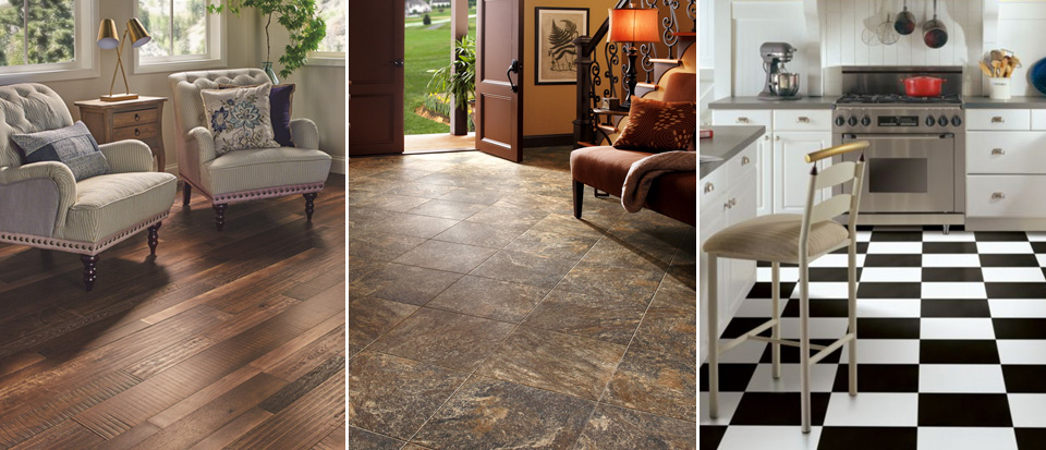 looking for wood, stone and alternative looks for your home