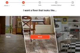 get help choosing your perfect floor with our Floor Finder tool