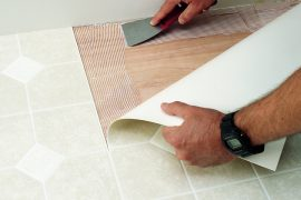 Vinyl Sheet Flooring Installation