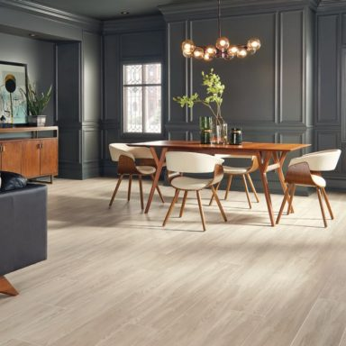 engineered tile floors for the dining room