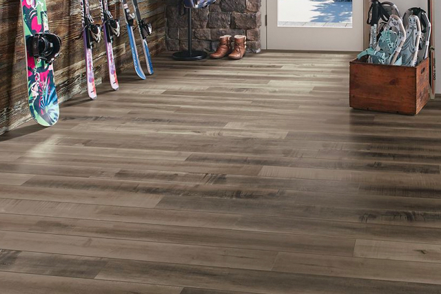 reclaimed gray high performance LVT - PC009