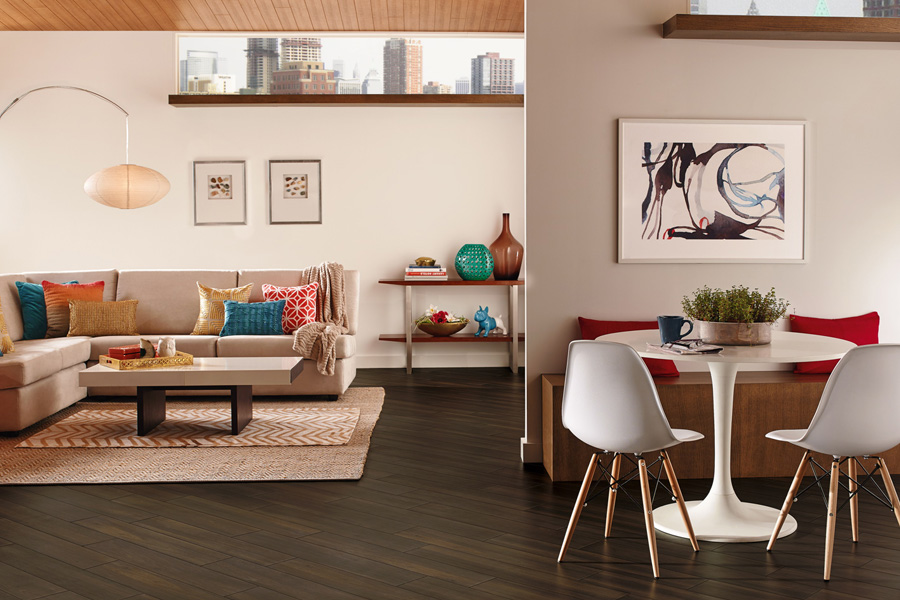 Basement Flooring Options With Luxury Vinyl U5071