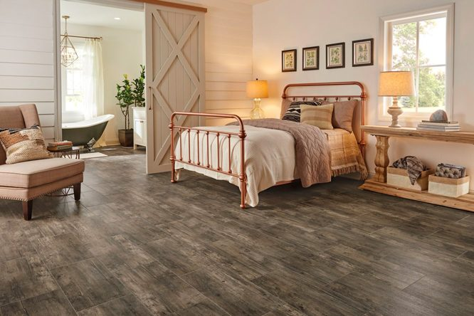 guide des rev tements de sol pour chambre coucher armstrong flooring residential. Black Bedroom Furniture Sets. Home Design Ideas