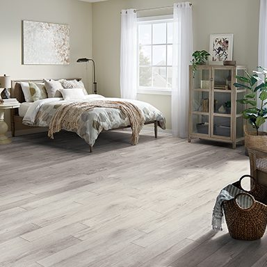 light flooring for the bedroom