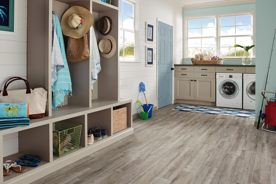 What Is The Best Flooring For A Laundry Room