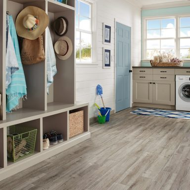 Flooring ideas and inspiration armstrong flooring for Laundry room floor ideas