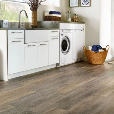 durable flooring for the laundry room