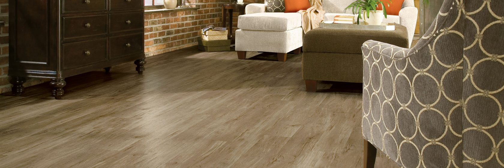 Timber Bay Luxury Vinyl Tile Provincial Brown A6860
