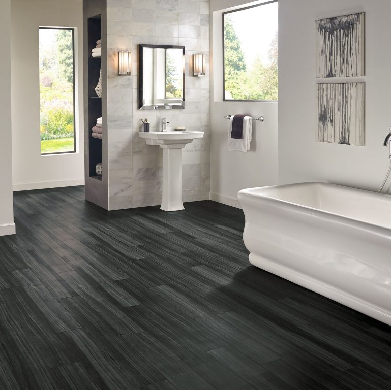 Dark Wood Tile Bathroom: Armstrong Flooring Residential