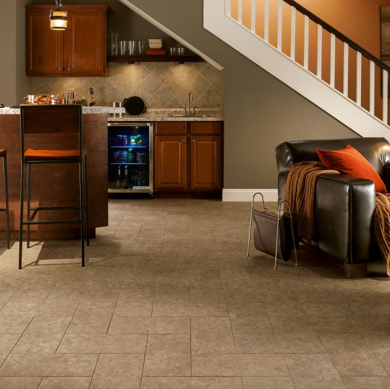 Basement Flooring Guide Armstrong Flooring Residential - Flooring options for basements that get water