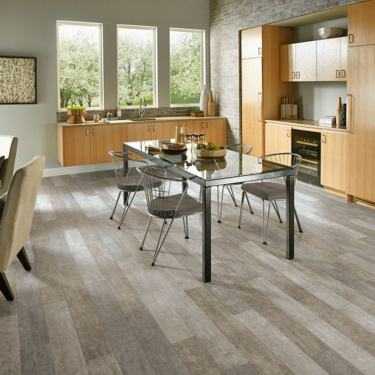 Gray Wood Flooring Kitchen: Armstrong Flooring Residential